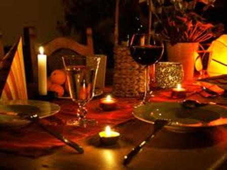 15 Candle Light Dinner