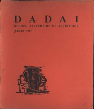 first dadaism magazine, 1917, Zurich
