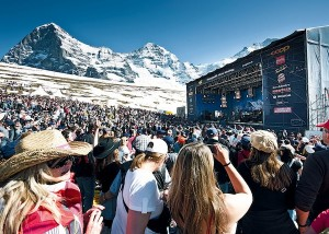 open air concerts, Switzerland