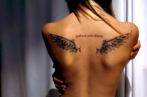 wings on my back