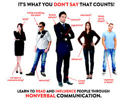 work on your body language