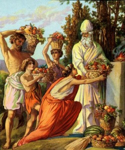 Offering of Firstfruits Deuteronomy 26:2-10