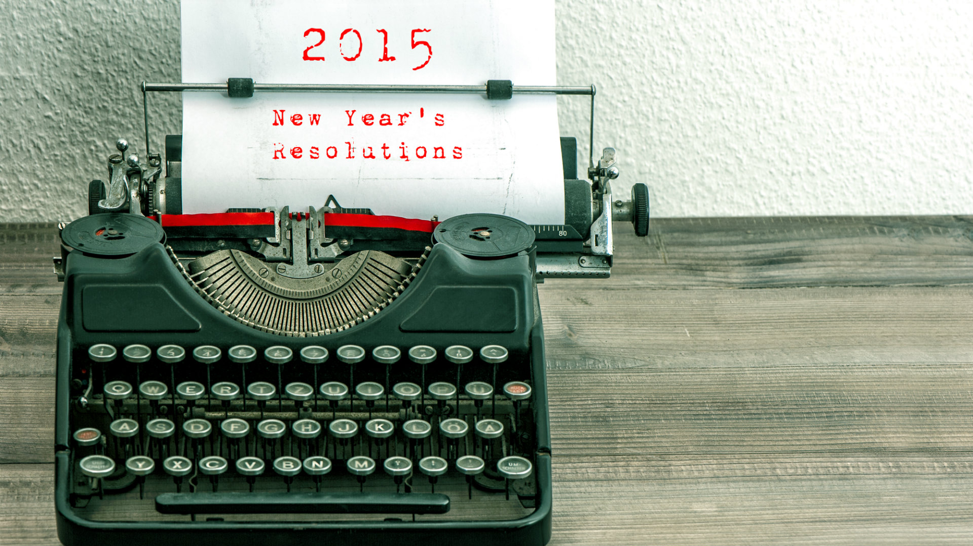 best new year resolutions 2015