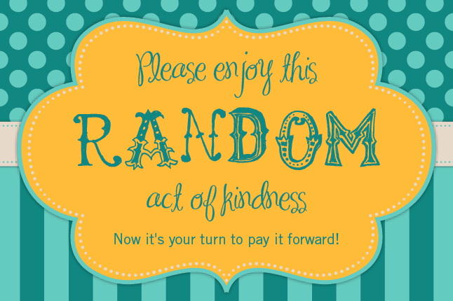 20 Ideas For Random Acts Of Kindness That You Can Do To Make Someone