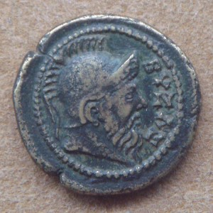 Coinage_with_Byzas_2nd_3rd_century_CE