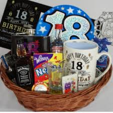 One Way To Actually Make The Guy Girl Realize That He She Has Finally Turned Eighteen Is Gift A Hamper Which Contains All Those Things Are Either