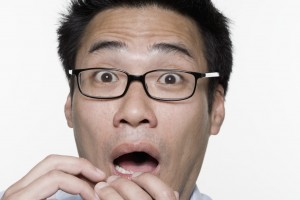 Shocked Man --- Image by © Royalty-Free/Corbis