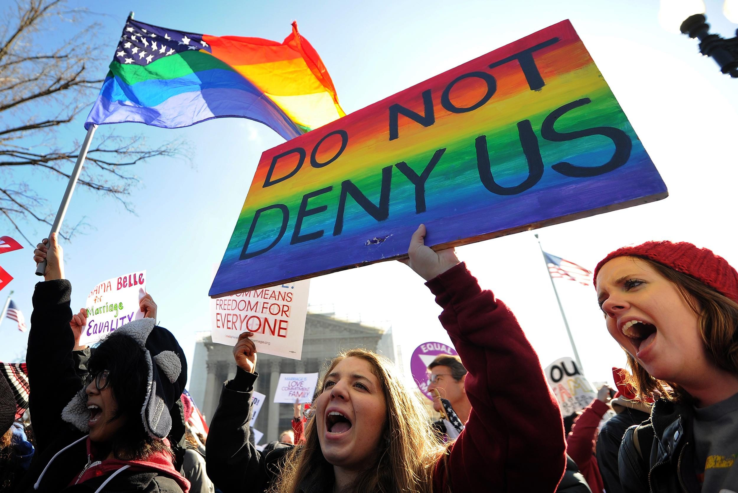 Legalization of homosexuality in america
