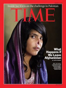 Bibi Aisha on Cover of Time