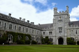 Cork, Ireland --- The Quadrangle at University College --- Image by © Rachel Royse/CORBIS