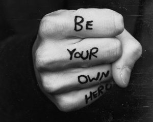 being your own hero